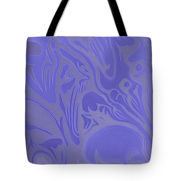 Neon Intensity Tote Bag
