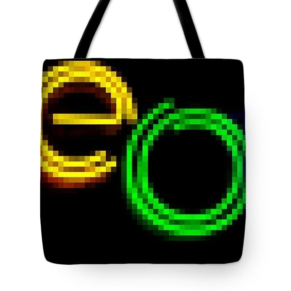Neon Tote Bag by Kelly Awad