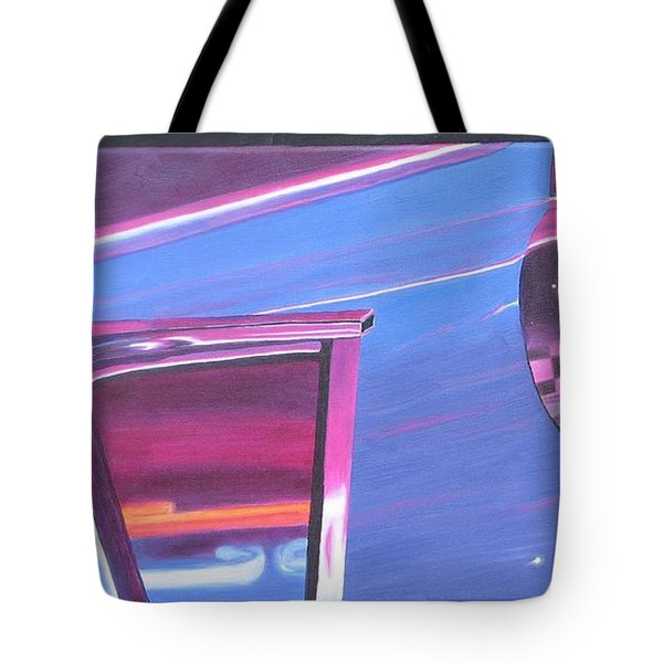 Neon Reflections IIi Tote Bag
