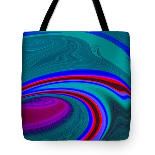 Neon Wave C2014 Tote Bag