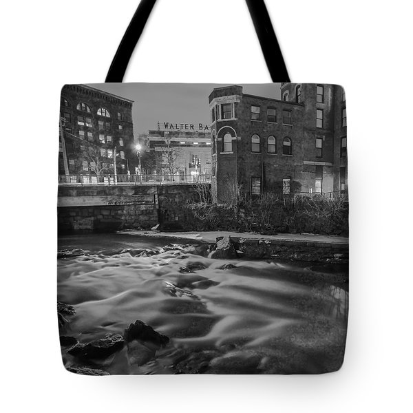 Neponset At Night Tote Bag by Brian MacLean