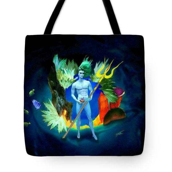 Neptune/poseidon Tote Bag