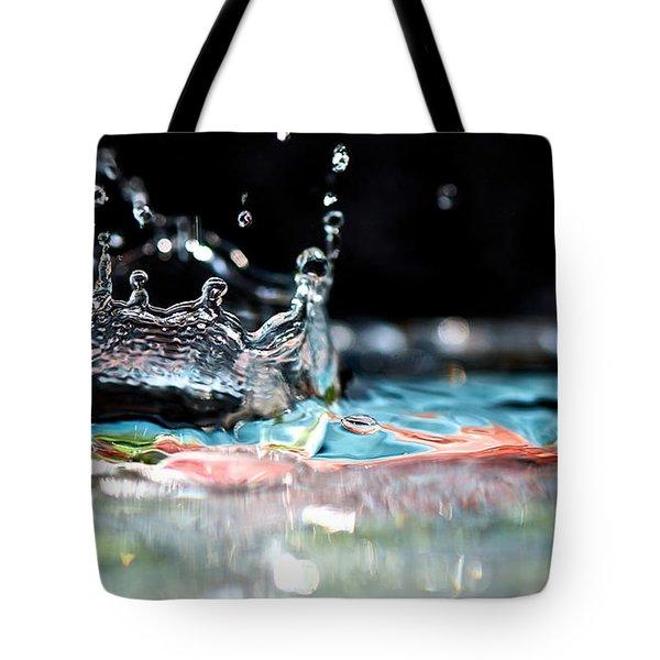 Neptune's Crown Tote Bag by Lisa Knechtel
