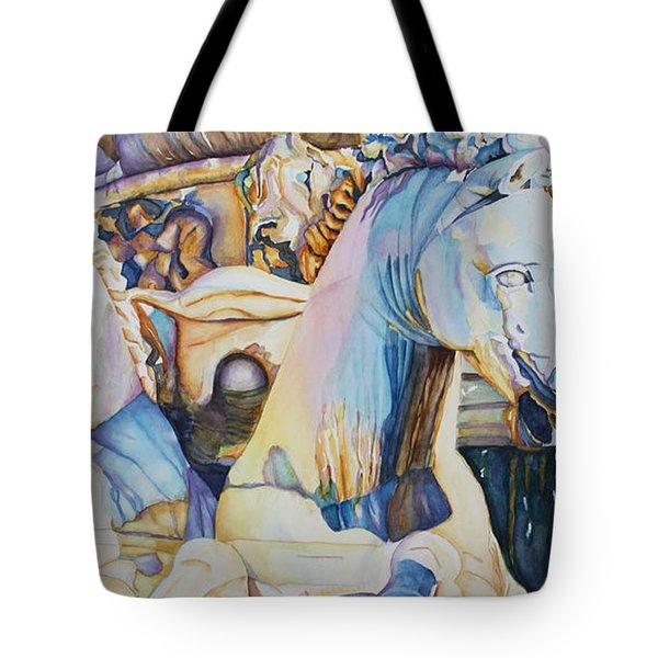 Neptune's Sea Horses - Florence Tote Bag