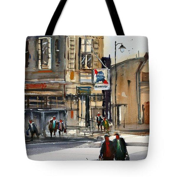 Neshkoro Tavern Tote Bag by Ryan Radke
