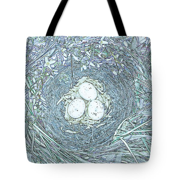 Nest Eggs By Jrr Tote Bag by First Star Art