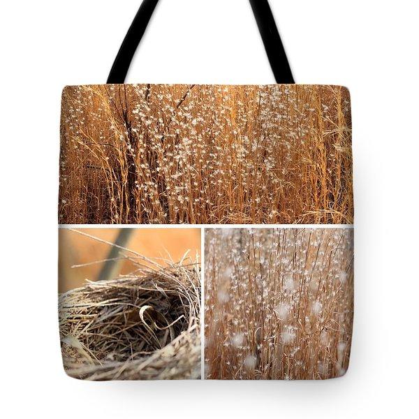 Nest Field Tote Bag by AR Annahita