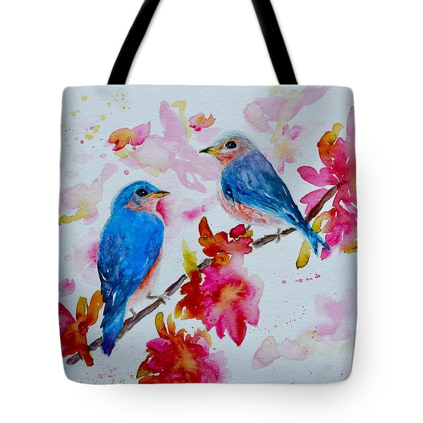 Nesting Pair Tote Bag