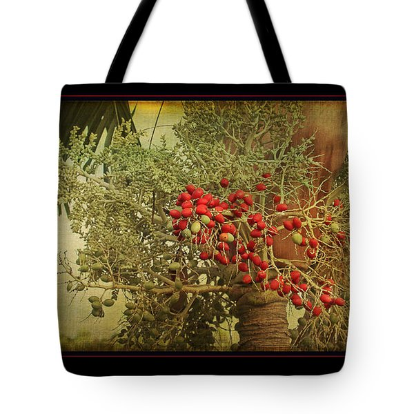 Tote Bag featuring the photograph Nesting Tropical Bird by Peggy Collins