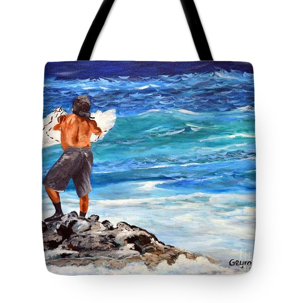 Net Fishing Tote Bag