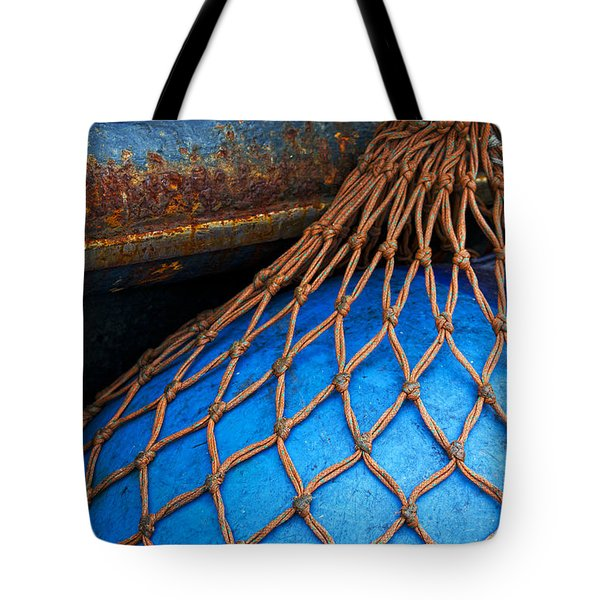 Nets And Knots Number One Tote Bag