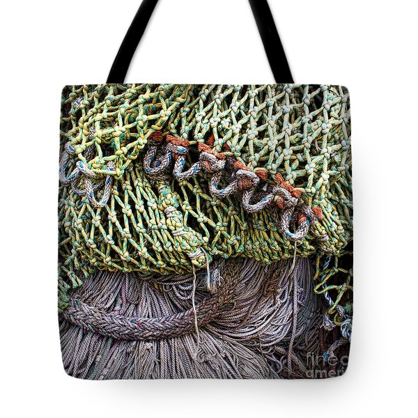 Nets And Knots Number Three Tote Bag