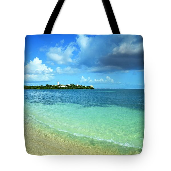 Nettle Bay Beach St. Maarten Tote Bag