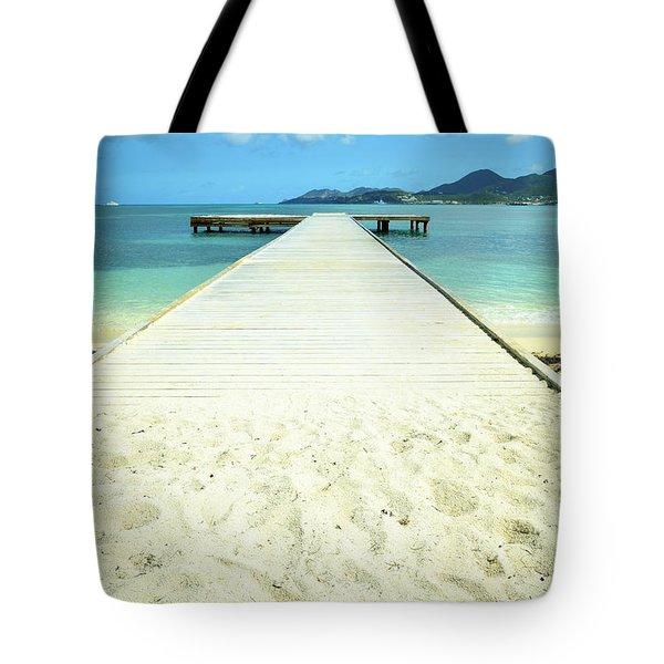 Nettle Bay Dock Tote Bag
