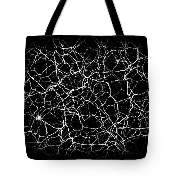 Neural Synapses Radiograph Of An Idea Tote Bag by Daniel Hagerman