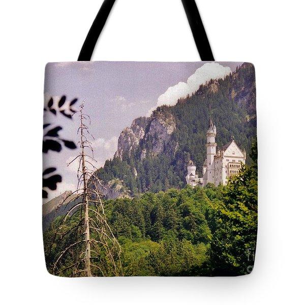 Neuschwanstein Castle Tote Bag by Halifax Artist John Malone
