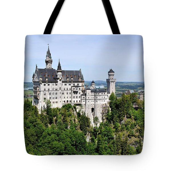 Neuschwanstein Castle Tote Bag by Rick Frost