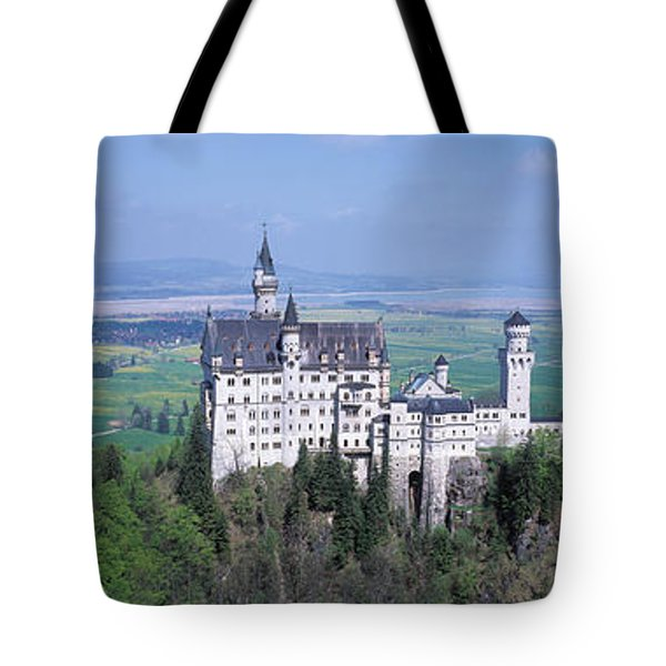 Neuschwanstein Palace Bavaria Germany Tote Bag