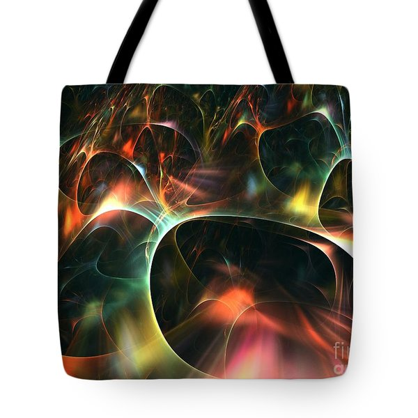 Neutrino Tote Bag by Kim Sy Ok