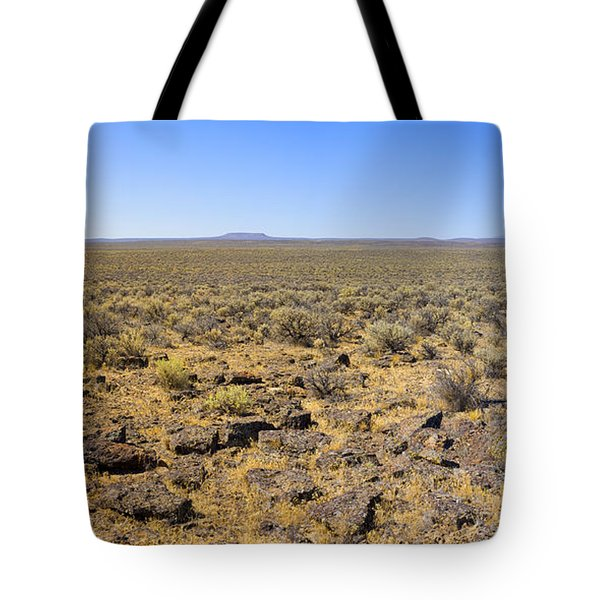 Tote Bag featuring the photograph Nevada Desert Panorama by Mark Greenberg