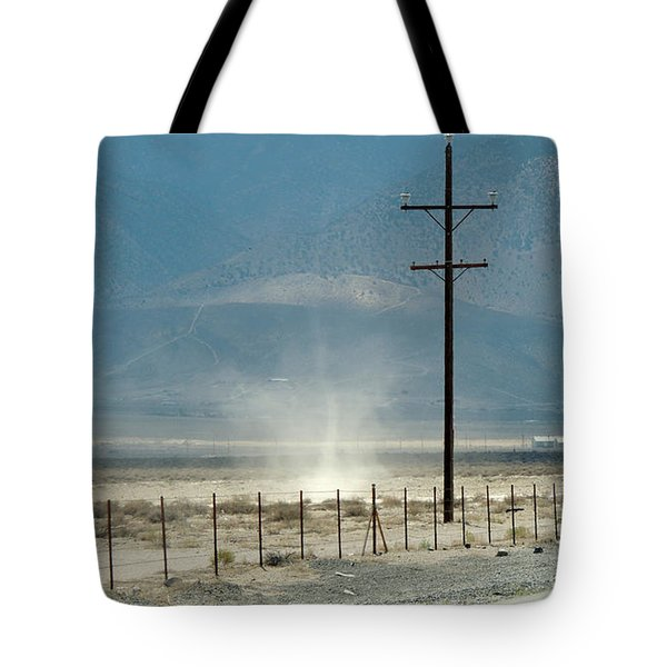 Nevada Dust Devil Tote Bag
