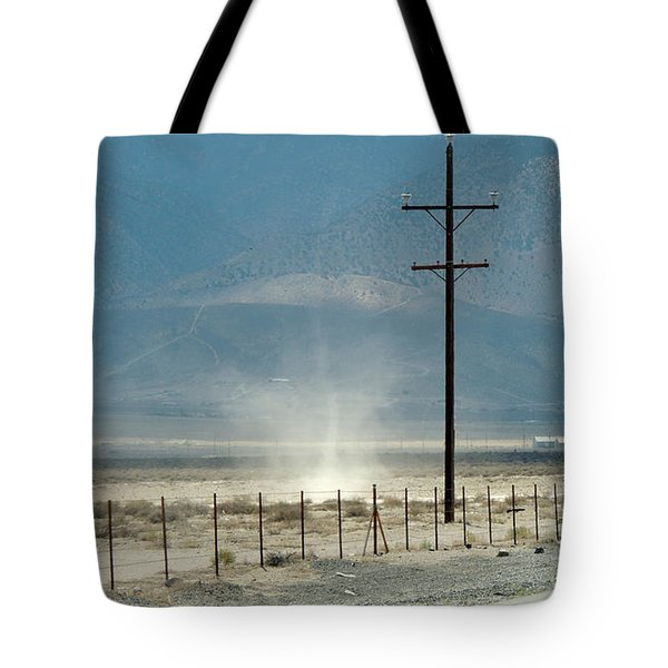 Nevada Dust Devil Tote Bag