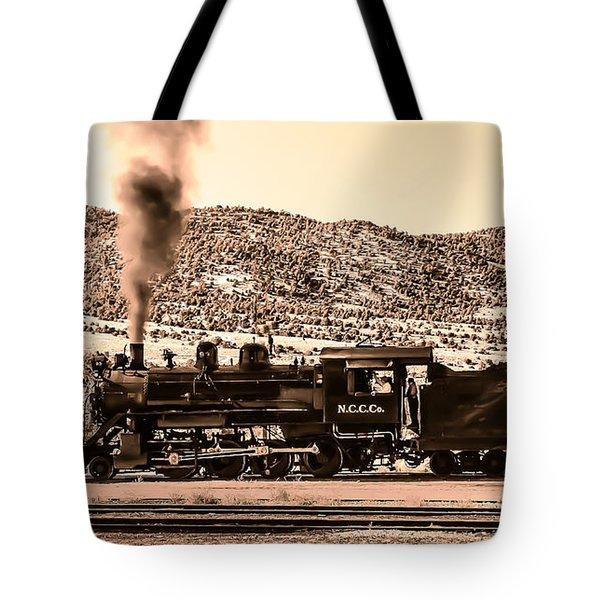 Nevada Northern Railway Tote Bag by Robert Bales