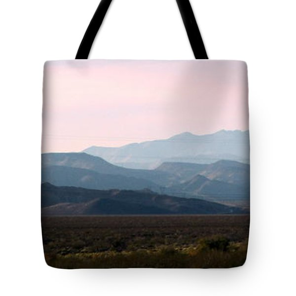 Nevada Sunset Tote Bag by Kay Novy
