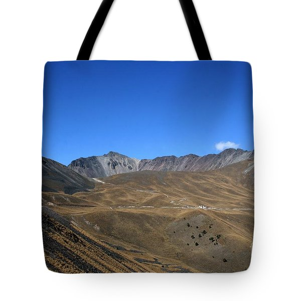 Nevado De Toluca Mexico Tote Bag