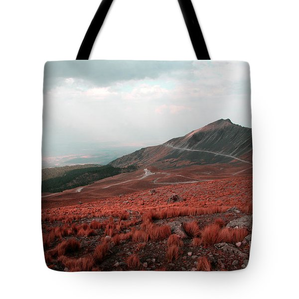 Nevado De Toluca Mexico II Tote Bag