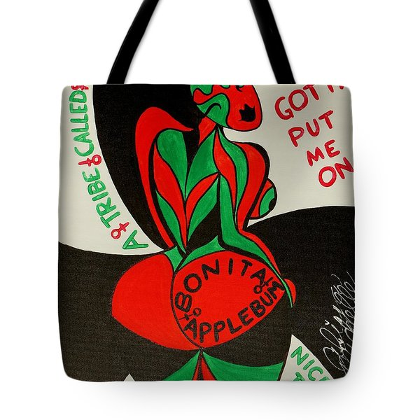 Never A Flaw Bonita Applebum Tote Bag