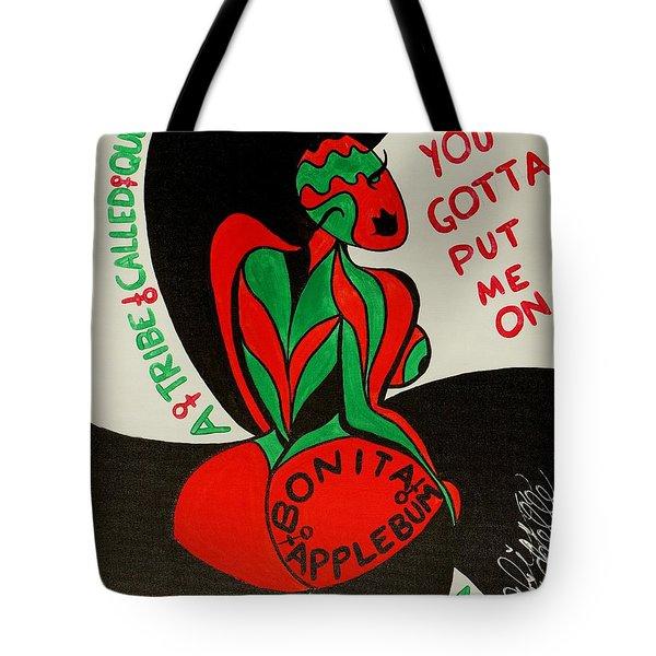 Never A Flaw Bonita Applebum Tote Bag