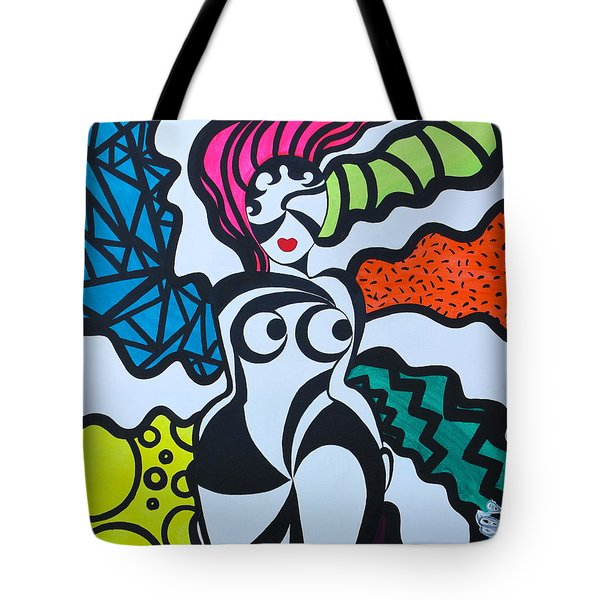 Never A Flaw Summertime Fine Tote Bag