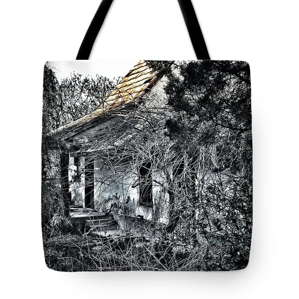 Never Again... Tote Bag by Marianna Mills