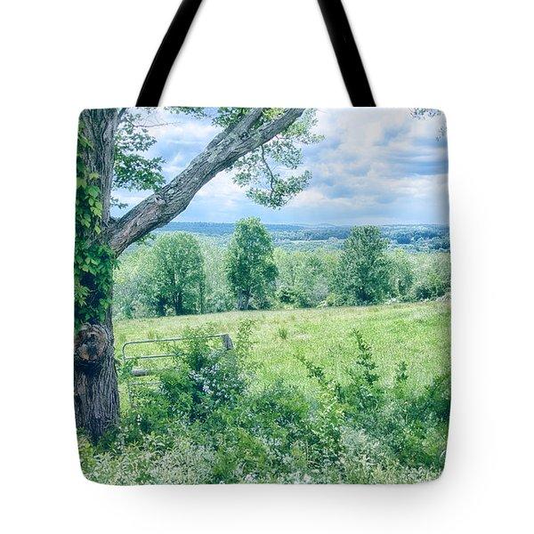 Never Ending Fields Tote Bag by Karol Livote