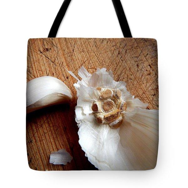 Tote Bag featuring the digital art Never Enough Garlic by Aliceann Carlton