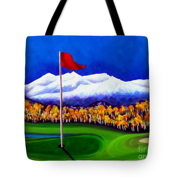 Tote Bag featuring the painting Never Enough by Jackie Carpenter