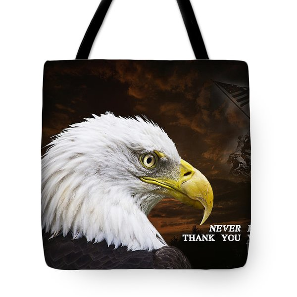 Never Forget - Memorial Day Tote Bag