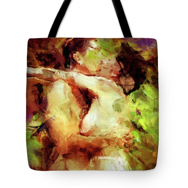 Never Let Me Go Tote Bag by Kurt Van Wagner