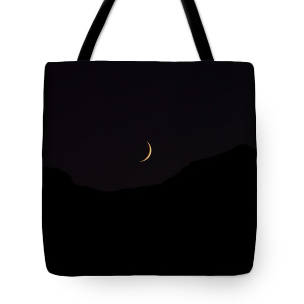 Never Summer Range Moonset Tote Bag by Jon Burch Photography