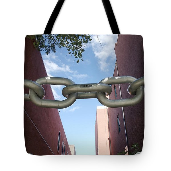 Neverbust Tote Bag by Blue Sky