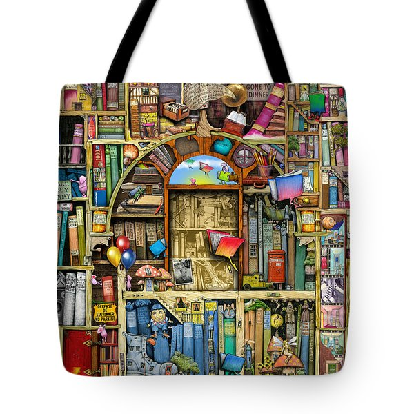 Neverending Stories Tote Bag by Colin Thompson