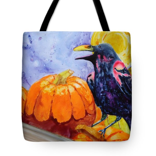 Nevermore Tote Bag by Nancy Jolley