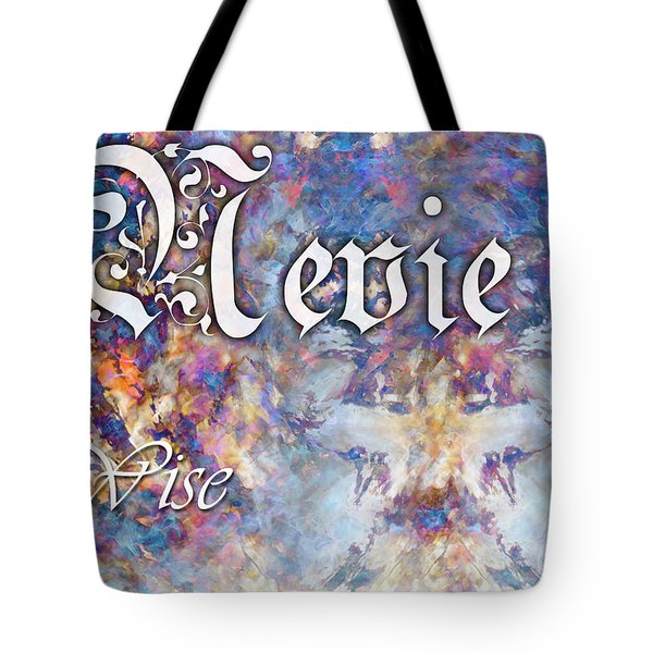 Nevie - Wise Tote Bag by Christopher Gaston