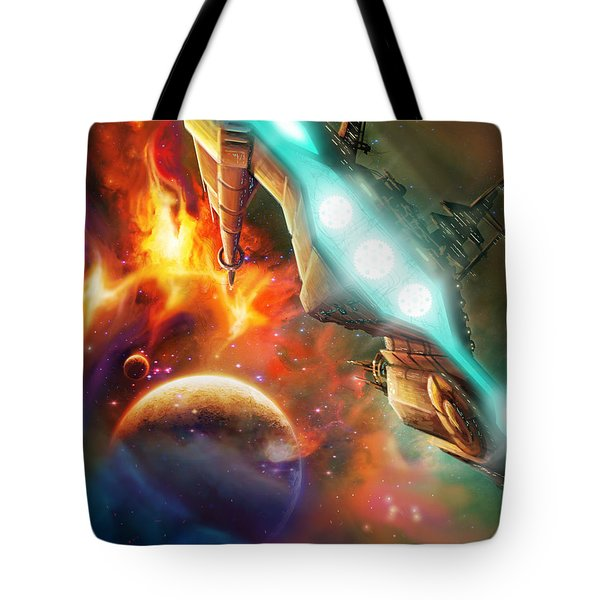 Nevtar Stardrive Tote Bag by James Christopher Hill