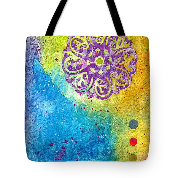 New Age #7 Tote Bag by Desiree Paquette