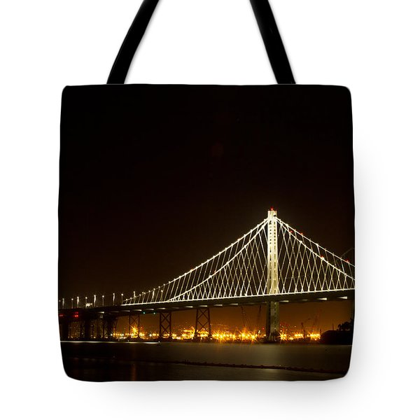 New Bay Bridge Tote Bag by Bill Gallagher