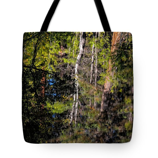 New Beaver Pond In The Woods Tote Bag