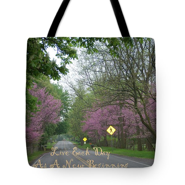 New Beginning Tote Bag by Aimee L Maher Photography and Art Visit ALMGallerydotcom