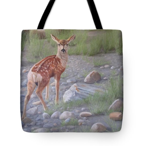 Tote Bag featuring the painting New Beginnings 2 by Tammy Taylor